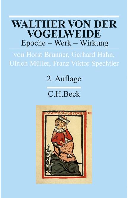 Cover: Franz Viktor Spechtler|Gerhard Hahn|Horst Brunner|Ulrich Müller, Walther von der Vogelweide