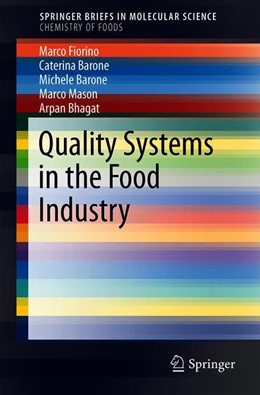 Abbildung von Fiorino / Barone | Quality Systems in the Food Industry | 1st ed. 2019 | 2019