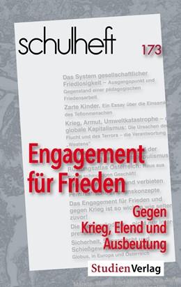 Abbildung von Adam / schulheft / Bernhard   schulheft 1/19 - 173   2019   Engagement für Frieden. Gegen ...   1/2019