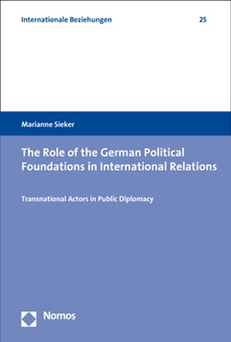 Abbildung von Sieker | The Role of the German Political Foundations in International Relations | 2019 | Transnational Actors in Public...