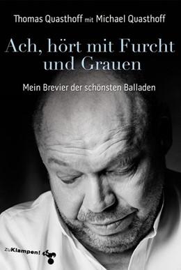 Abbildung von Quasthoff   Ach, hört mit Furcht und Grauen   1. Auflage   2019   beck-shop.de