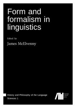 Abbildung von Mcelvenny | Form and formalism in linguistics | 2019