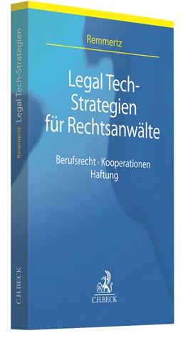 Abbildung von Remmertz | Legal Tech-Strategien für Rechtsanwälte | 1. Auflage | 2020 | beck-shop.de
