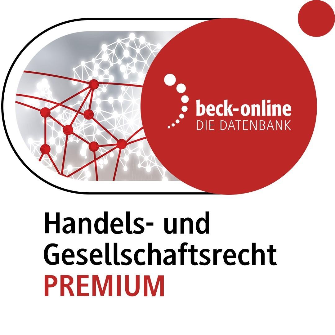 beck-online. Handels- und Gesellschaftsrecht PREMIUM (Cover)