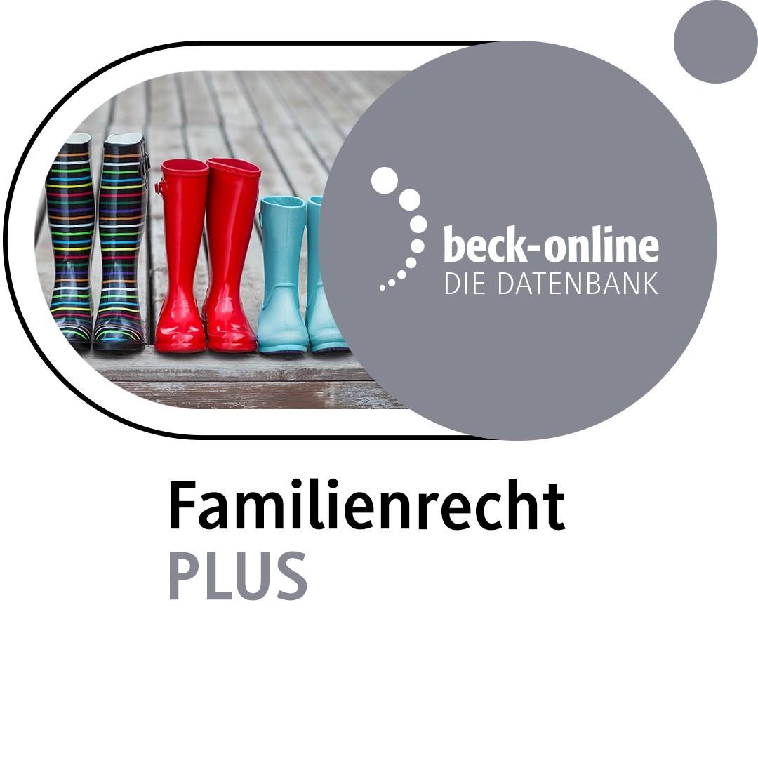 beck-online. Familienrecht PLUS (Cover)