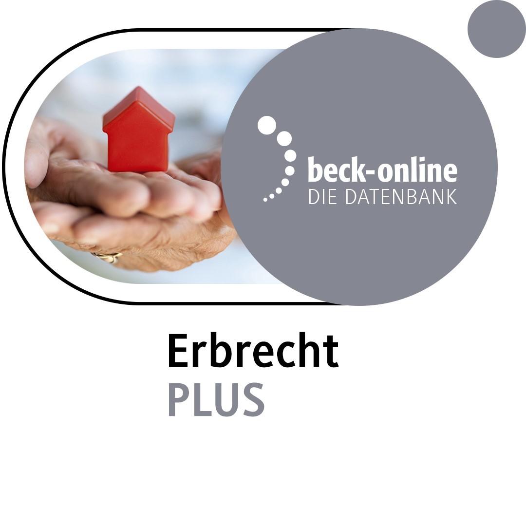 beck-online. Erbrecht PLUS (Cover)