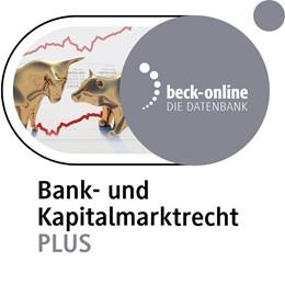 Abbildung von beck-online. Bank- und Kapitalmarktrecht PLUS | | Das Online-Angebot u.a. mit Sc...