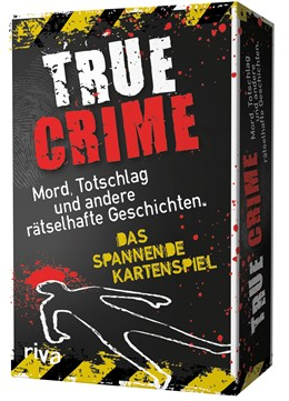 Abbildung von Dorn | True Crime - 45 schaurige Rätsel zu wahren Kriminalfällen | 2019 | Das spannende Kartenspiel