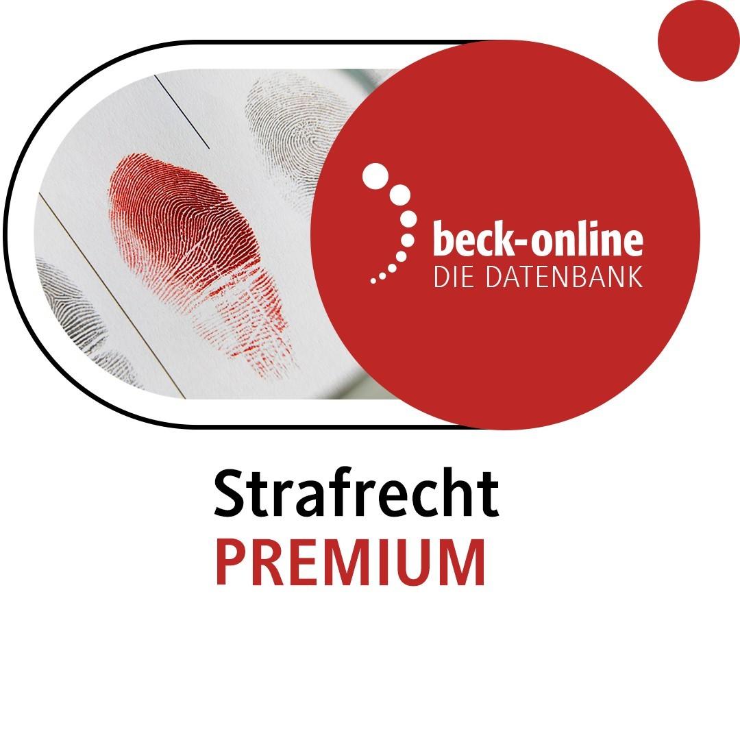 beck-online. Strafrecht PREMIUM (Cover)