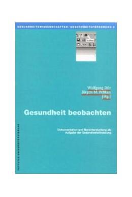 Abbildung von Dür / Pelikan | Gesundheit beobachten | 2000 | Dokumentation und Berichtersta... | 8