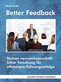 Abbildung von Lürzer | Better Feedback | 1. Auflage | 2019 | beck-shop.de