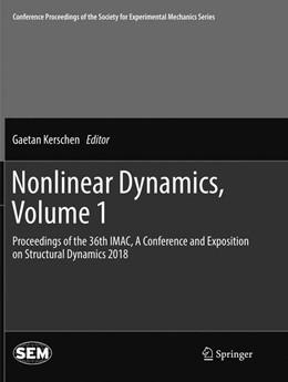 Abbildung von Kerschen   Nonlinear Dynamics, Volume 1   Softcover reprint of the original 1st ed. 2019   2019   Proceedings of the 36th IMAC, ...