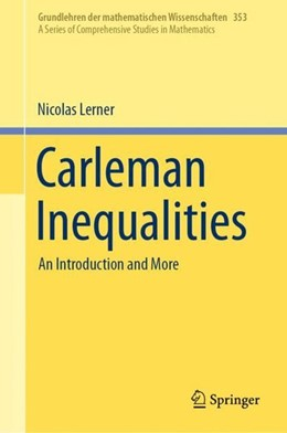 Abbildung von Lerner | Carleman Inequalities | 1st ed. 2019 | 2019 | An Introduction and More