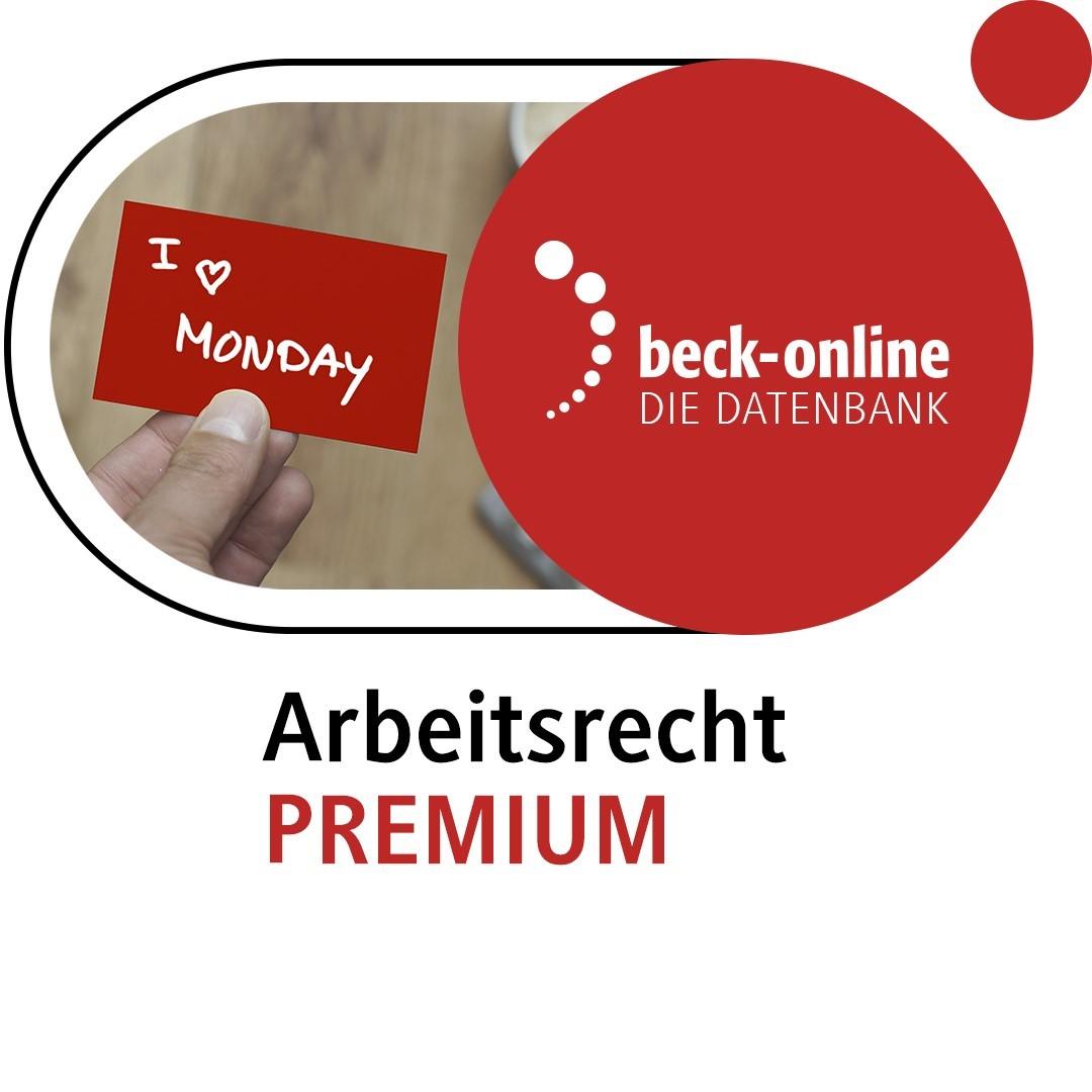 beck-online. Arbeitsrecht PREMIUM (Cover)