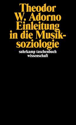 Abbildung von Adorno | Einleitung in die Musiksoziologie | 1975 | Zwölf theoretische Vorlesungen | 142