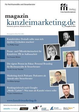 Abbildung von magazin kanzleimarketing.de | 1. Auflage | 2019 | beck-shop.de