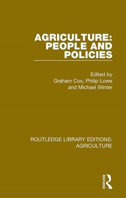 Abbildung von Cox / Lowe | Agriculture: People and Policies | 1. Auflage | 2019 | 5 | beck-shop.de
