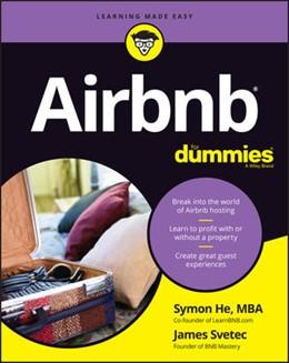 Abbildung von He / Svetec | Airbnb For Dummies | 1. Auflage | 2020 | beck-shop.de