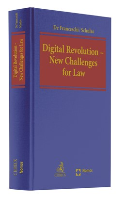 Abbildung von De Franceschi / Schulze | Digital Revolution - New Challenges for Law | 1. Auflage | 2019 | beck-shop.de