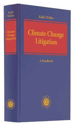Abbildung von Kahl / Weller | Climate Change Litigation | 1. Auflage | 2021 | beck-shop.de