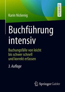 Abbildung von Nickenig   Buchführung intensiv   3., korrigierte und aktualisierte Auflage   2019   Buchungsfälle von leicht bis s...