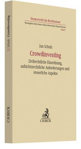 Abbildung von Schulz   Crowdinvesting   2020   Zivilrechtliche Einordnung, au...   Band 3