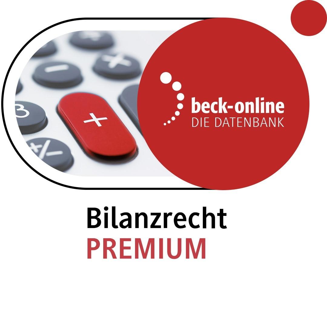 beck-online. Bilanzrecht PREMIUM (Cover)