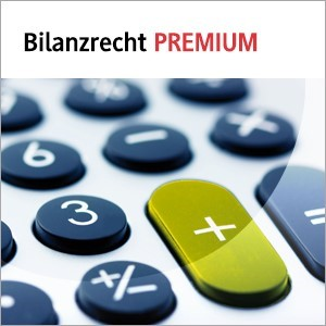 Abbildung von beck-online. Bilanzrecht PREMIUM