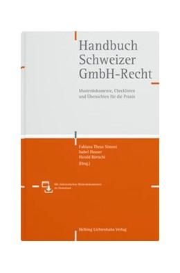 Abbildung von Theus Simoni / Hauser | Handbuch Schweizer GmbH-Recht | 1. Auflage | 2019 | beck-shop.de