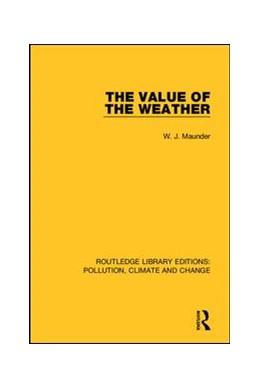 Abbildung von Maunder | The Value of the Weather | 2019