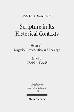 Abbildung von Sanders | Scripture in Its Historical Contexts | 2019 | Volume II: Exegesis, Hermeneut... | 126
