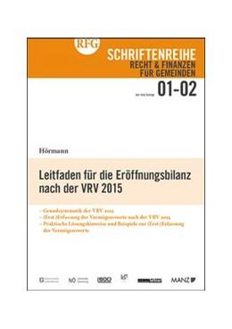 Abbildung von Hörmann | Leitfaden für die Eröffnungsbilanz nach der VRV 2015 | 2019 | 01-02/2019