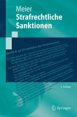 Abbildung von Meier | Strafrechtliche Sanktionen | 5. Aufl. 2019 | 2019