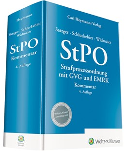 Abbildung von Satzger / Schluckebier / Widmaier | StPO - Kommentar | 4. Auflage | 2020 | Strafprozessordnung mit GVG un...