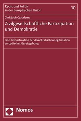 Abbildung von Czauderna | Zivilgesellschaftliche Partizipation und Demokratie | 1. Auflage | 2019 | 10 | beck-shop.de