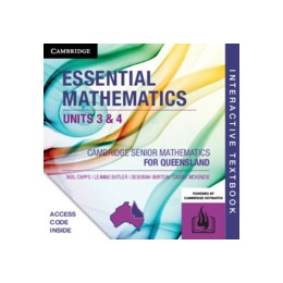Abbildung von Capps / Butler / Burton | CSM QLD Essential Mathematics Units 3 and 4 Digital (Card) | 2019