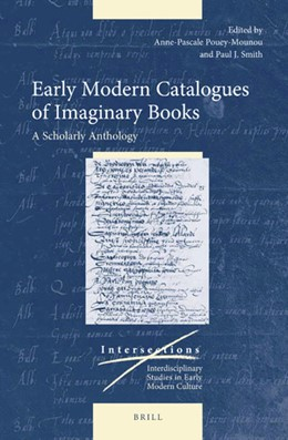 Abbildung von Pouey-Mounou / Smith   Early Modern Catalogues of Imaginary Books   2019   A Scholarly Anthology   66