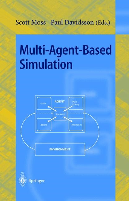 Multi-Agent-Based Simulation | Moss / Davidsson, 2001 | Buch (Cover)