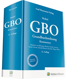 Abbildung von Meikel   Grundbuchordnung: GBO   12. Auflage   2020