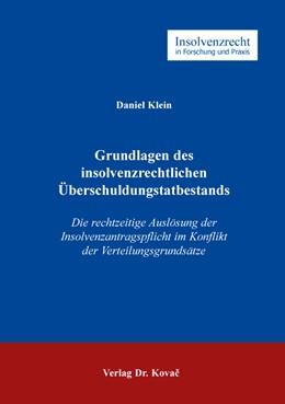 Abbildung von Klein | Grundlagen des insolvenzrechtlichen Überschuldungstatbestands | 1. Auflage | 2019 | 113 | beck-shop.de