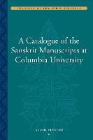 Abbildung von Pingree | A Catalogue of the Sanskrit Manuscripts at Columbia University | 2009