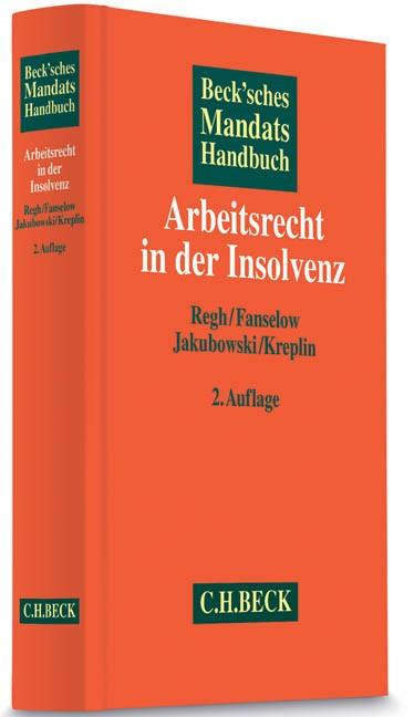 Beck'sches Mandatshandbuch Arbeitsrecht in der Insolvenz | Buch (Cover)