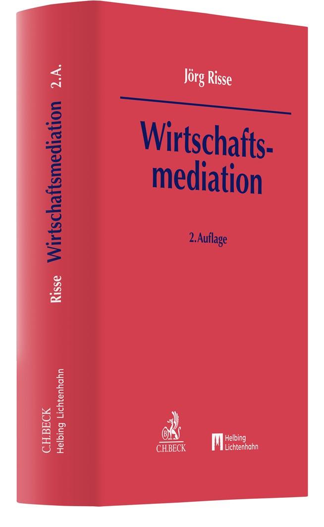 Wirtschaftsmediation | Risse | 2. Auflage, 2019 | Buch (Cover)