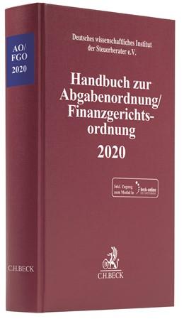 Abbildung von Handbuch zur Abgabenordnung / Finanzgerichtsordnung 2020: AO / FGO 2020 | 2020