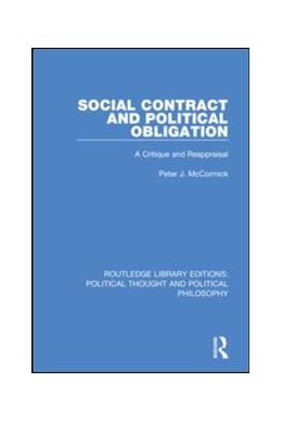 Abbildung von McCormick | Social Contract and Political Obligation | 2019 | A Critique and Reappraisal | 38