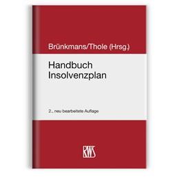 Abbildung von Brünkmans / Thole (Hrsg.) | Handbuch Insolvenzplan | 2. Auflage | 2020