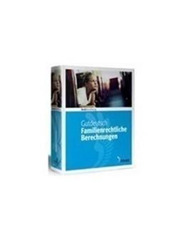 Abbildung von Gutdeutsch   Familienrechtliche Berechnungen • Landratsamts- und Jugendamtsversion - Edition 2 / 2019   2019