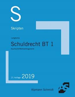 Abbildung von Langkamp (geb. Wirtz) | Skript Schuldrecht BT 1 | 21. Auflage | 2019 | Kaufrecht / Werkvertragsrecht