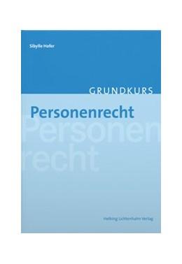Abbildung von Hofer | Personenrecht | 2019
