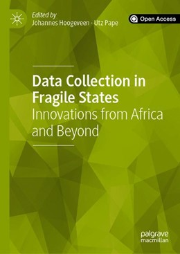 Abbildung von Hoogeveen / Pape | Data Collection in Fragile States | 1st ed. 2020 | 2019 | Innovations from Africa and Be...